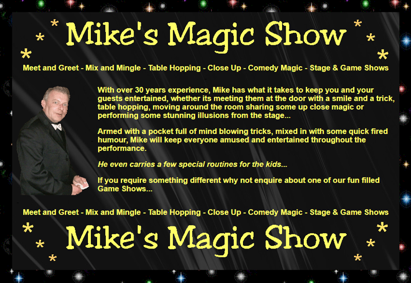 Mikes Magic Show